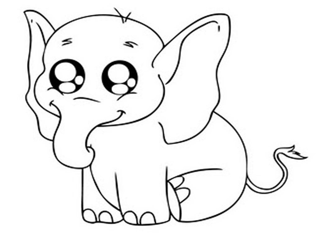 Free Printable Elephant Coloring Pages For Kids