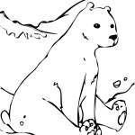 Bear Coloring Page Picture