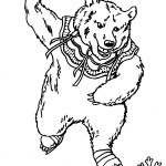 Bear Coloring Pages Image