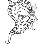 Beautiful Butterfly Coloring Pages Picture