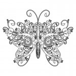 Photos of Butterfly Coloring Pages