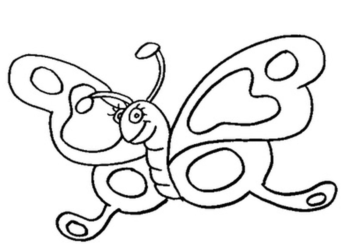 Butterfly coloring pages - Butterfly Coloring Pages Picture