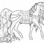 Carousel Horse Aquatica Coloring Pages Image