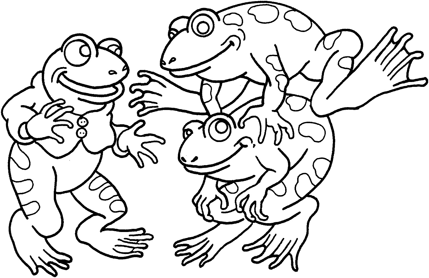 Free Printable Frog Coloring Pages For Kids | Animal Place