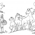Images of Coloring Page of Horse