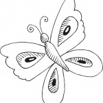 Coloring Pages Butterfly Photo