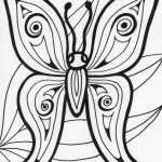 Image of Coloring Pages Butterfly Image