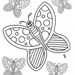Images of Coloring Pages Butterfly