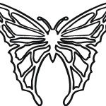 Picture of Coloring Pages Butterfly