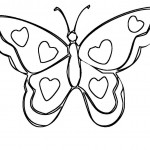 Pictures of Coloring Pages Butterfly