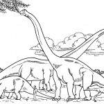 Coloring Pages of Dinosaur Picture