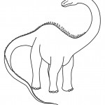 Image of Coloring Pages of Dinosaur