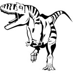 Images of Coloring Pages of Dinosaur