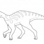 Picture of Coloring Pages of Dinosaur
