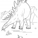Pictures of Coloring Pages of Dinosaur
