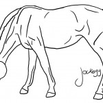 Image of Coloring Pages of Horses