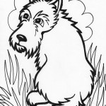 Photo of Cute Dog Coloring Pages