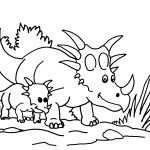 Images of Dinosaur Coloring Page
