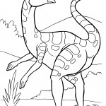 Photo of Dinosaur Coloring Page