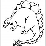 Photos of Dinosaur Coloring Page