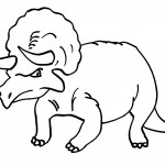 Dinosaur Coloring Pages Image
