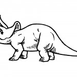 Image of Dinosaur Coloring Pages