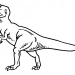 Images of Dinosaur Coloring Pages