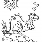 Photo of Dinosaur Coloring Pages