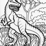Photos of Dinosaur Coloring Pages