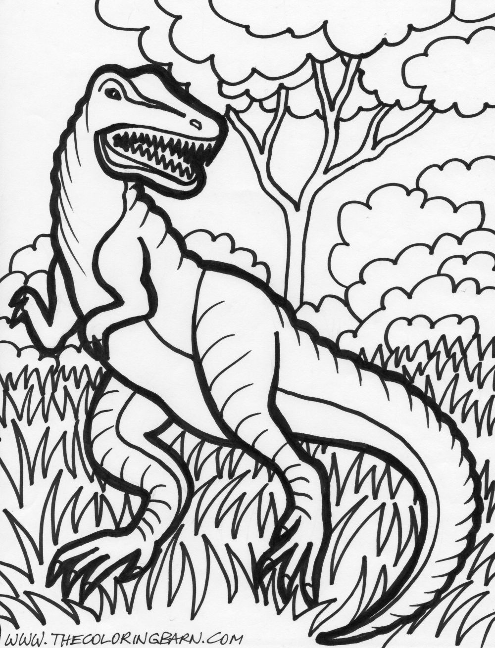 Childrens coloring dinosaur pages - Photos Of Dinosaur Coloring Pages