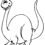 Picture of Dinosaur Coloring Pages Picture