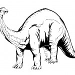 Dinosaur Coloring Pages for Kids Image