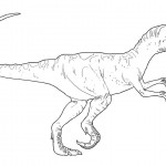 Picture of Dinosaur Coloring Pages for Kids Picture