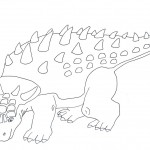 Photo of Dinosaurs Coloring Page