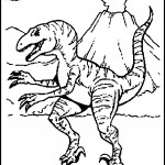 Pictures of Dinosaurs Coloring Page