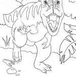 Image of Dinosaurs Coloring Pages