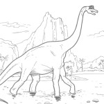 Images of Dinosaurs Coloring Pages