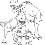 Photo of Dinosaurs Coloring Pages