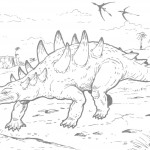 Photos of Dinosaurs Coloring Pages
