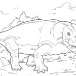 Pictures of Dinosaurs Coloring Pages