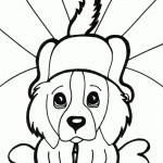 Dog Coloring Pages Photo