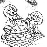 Pictures of Dog Coloring Pages