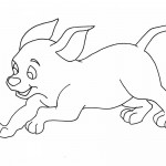 Dog Coloring Pages Printable Image
