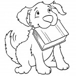 Dog Coloring Pages for Kids Photo