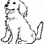 Pictures of Dog Coloring Pages for Kids