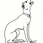 Pictures of Dogs Coloring Pages for Kids