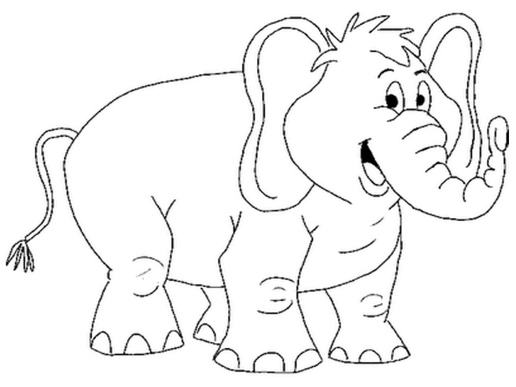 Free printable elephant coloring pages for kids animal place Coloring book for kids