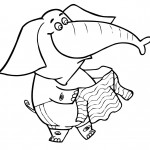 Elephant Coloring Pages Photos