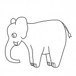 Elephant Coloring Pages Picture