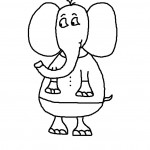 Elephant Coloring Pages Pictures